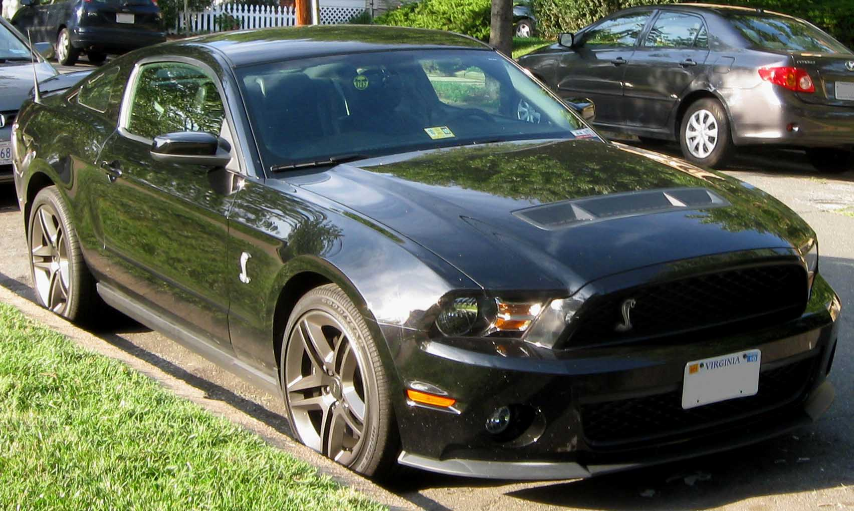 All Types 2010 mustang shelby : File:2010 Ford Mustang Shelby GT500 -- 07-22-2010.jpg - Wikimedia ...