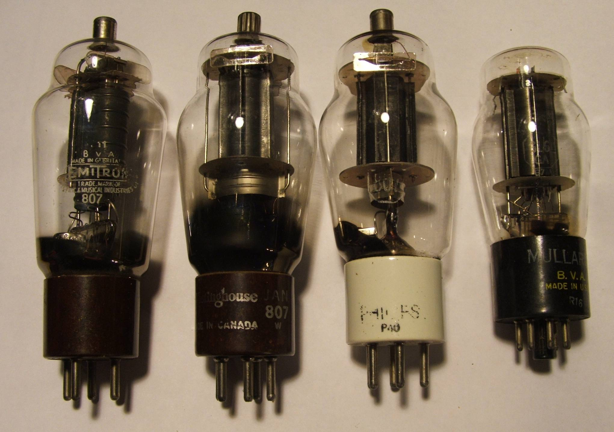 807 (vacuum tube) - Wikipedia