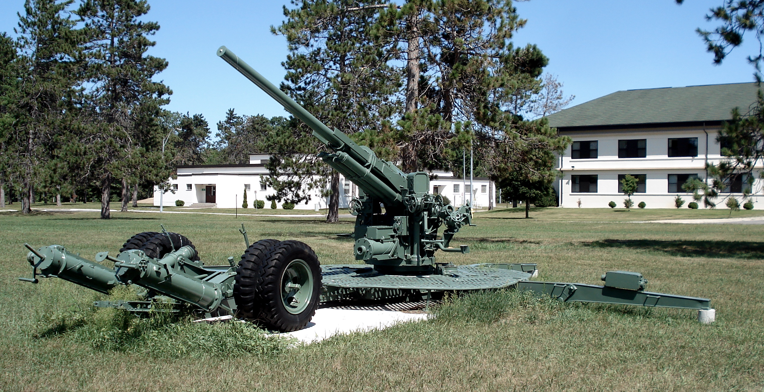 (Image source: Wikipedia 90 mm gun