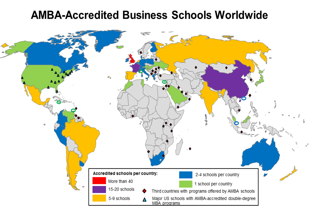 World History Map Program. File AMBA accredited business schools  global map png Wikimedia