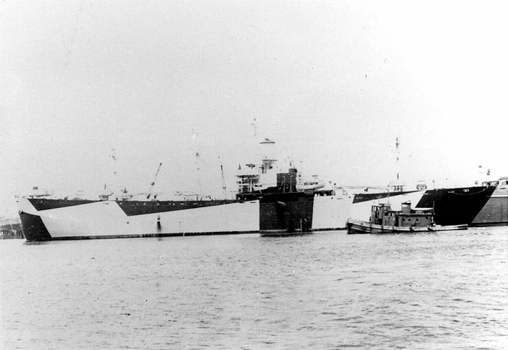 USS Stag (AW-1), c. 1944