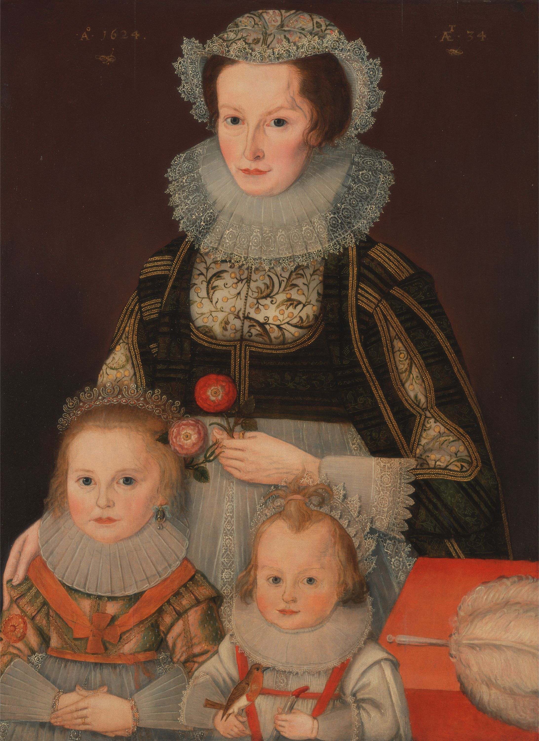 File:A Lady and Her Two Children 1624.jpg
