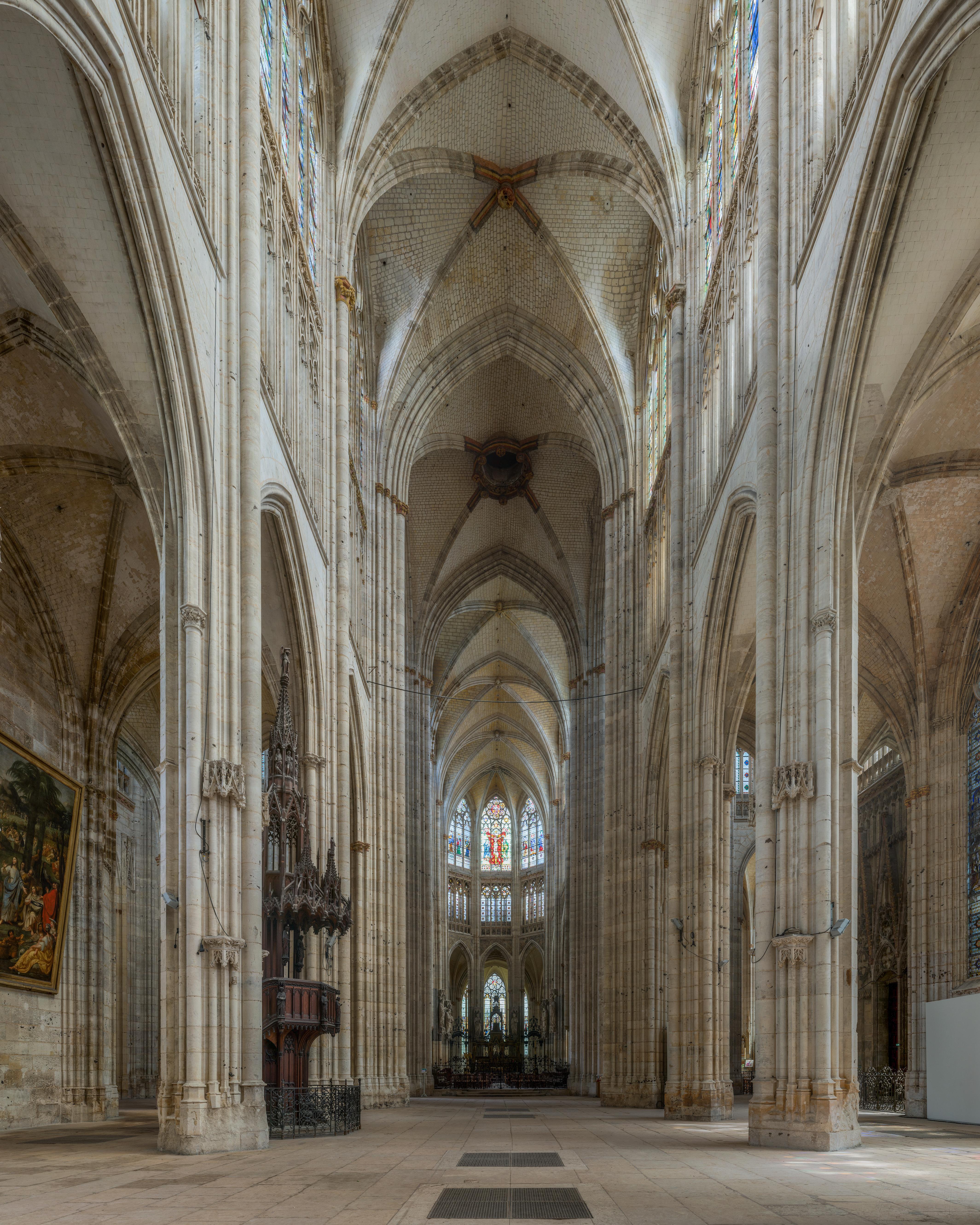 File abbaye saint ouen de rouen nave crop 20140514 wikimedia commons - Agence saint ouen rouen ...