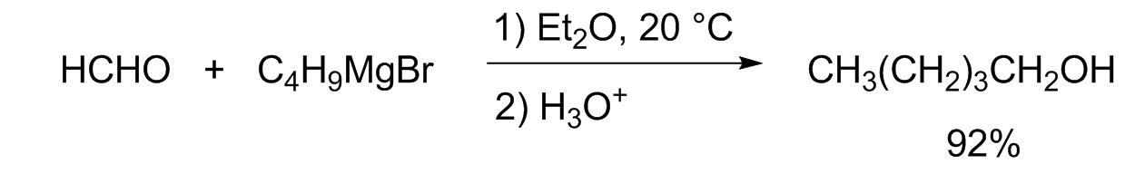 Реакция с магнийорганическими соединениями
