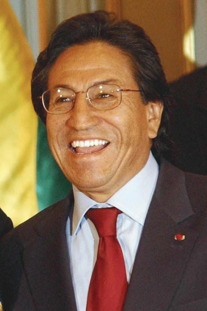 Alejandro Toledo in 2003