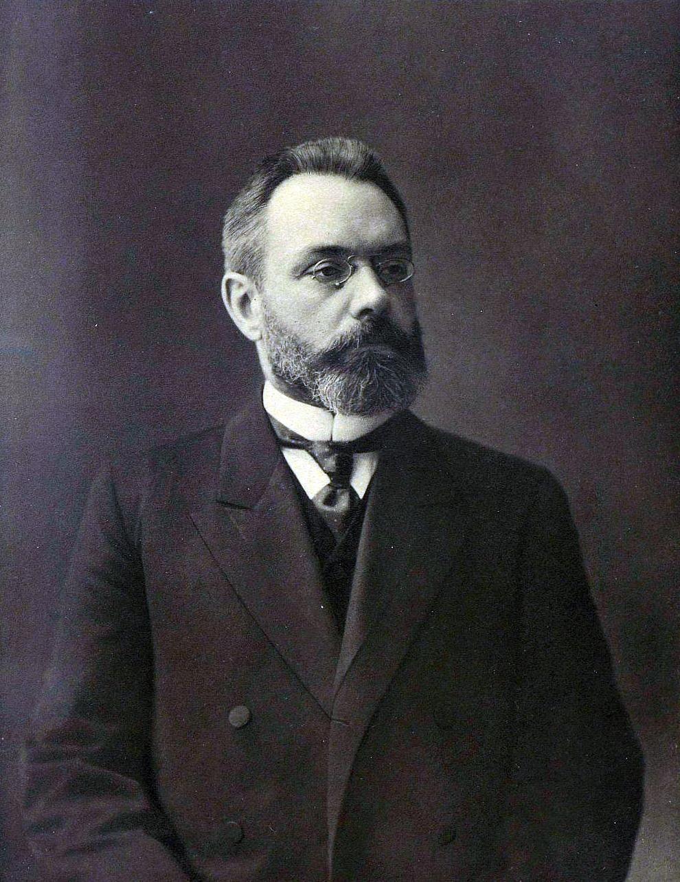 Depiction of Aleksandr Guchkov
