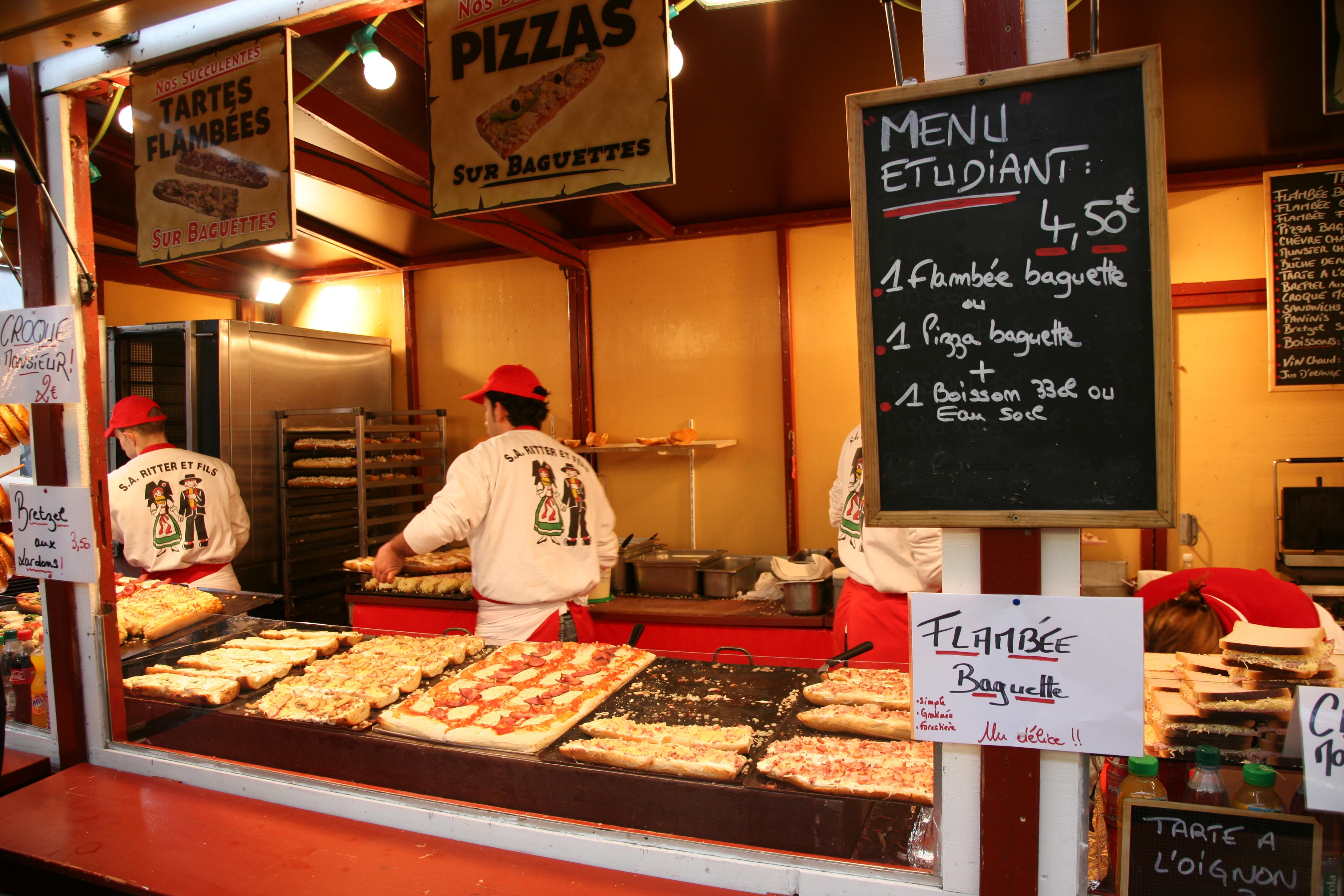 Street Food Pizza