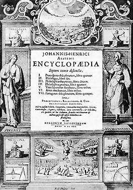 Alsted Encyclopaedia 1630