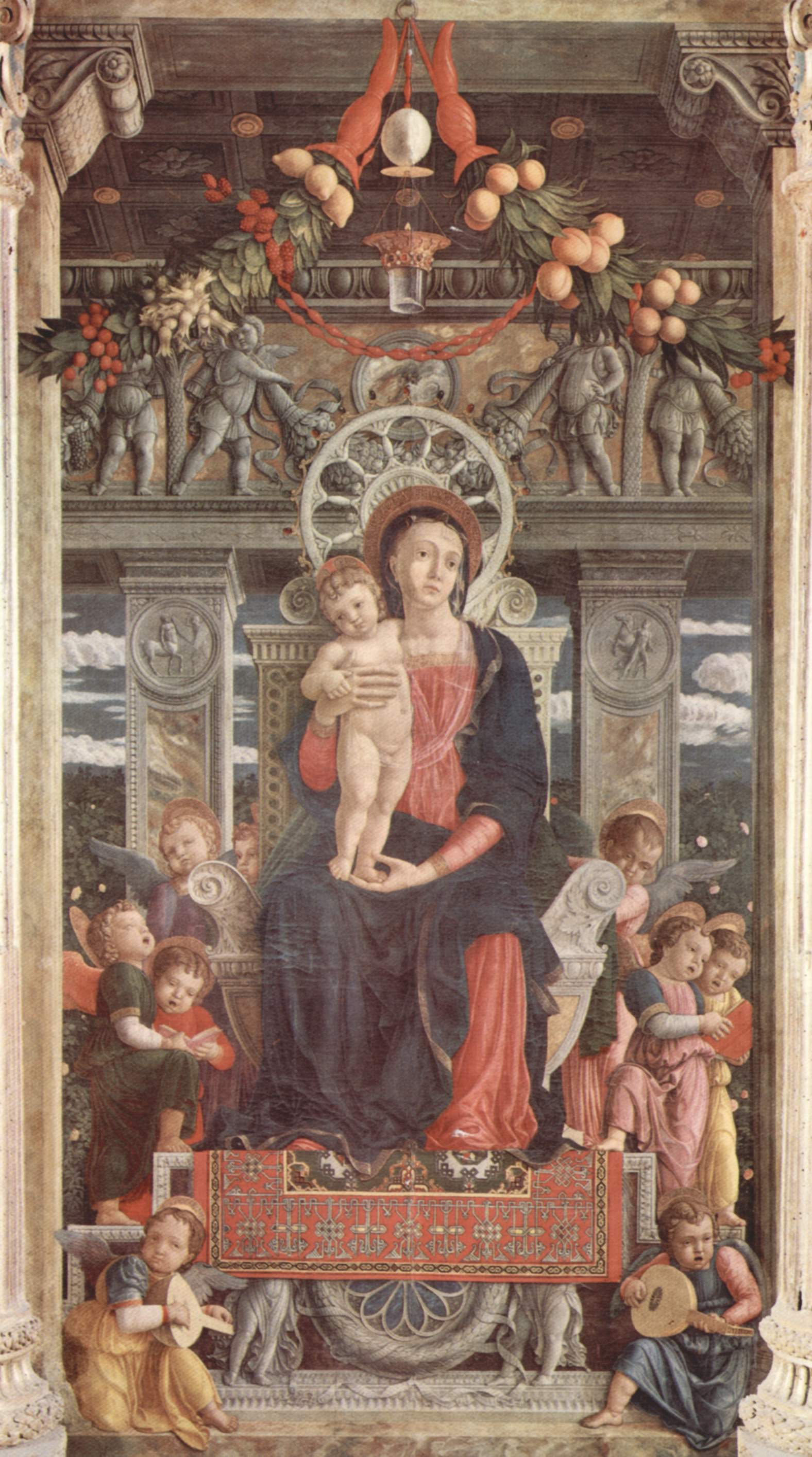 The Virgin Mary in Andrea Mantegna's San Zeno ...