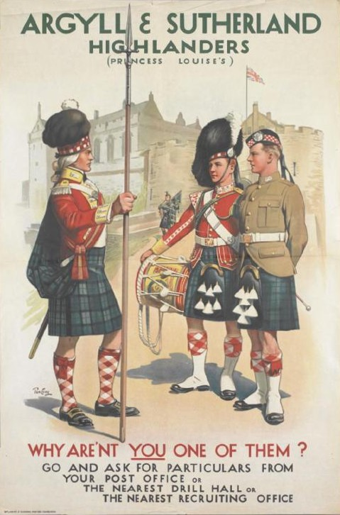 Image result for argyll and sutherland highlanders