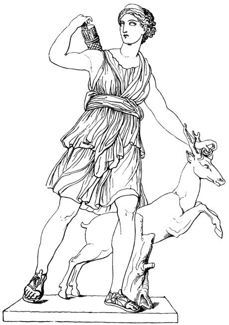 2011 Celtic Tattoos Artemis Greek Goddess Symbols