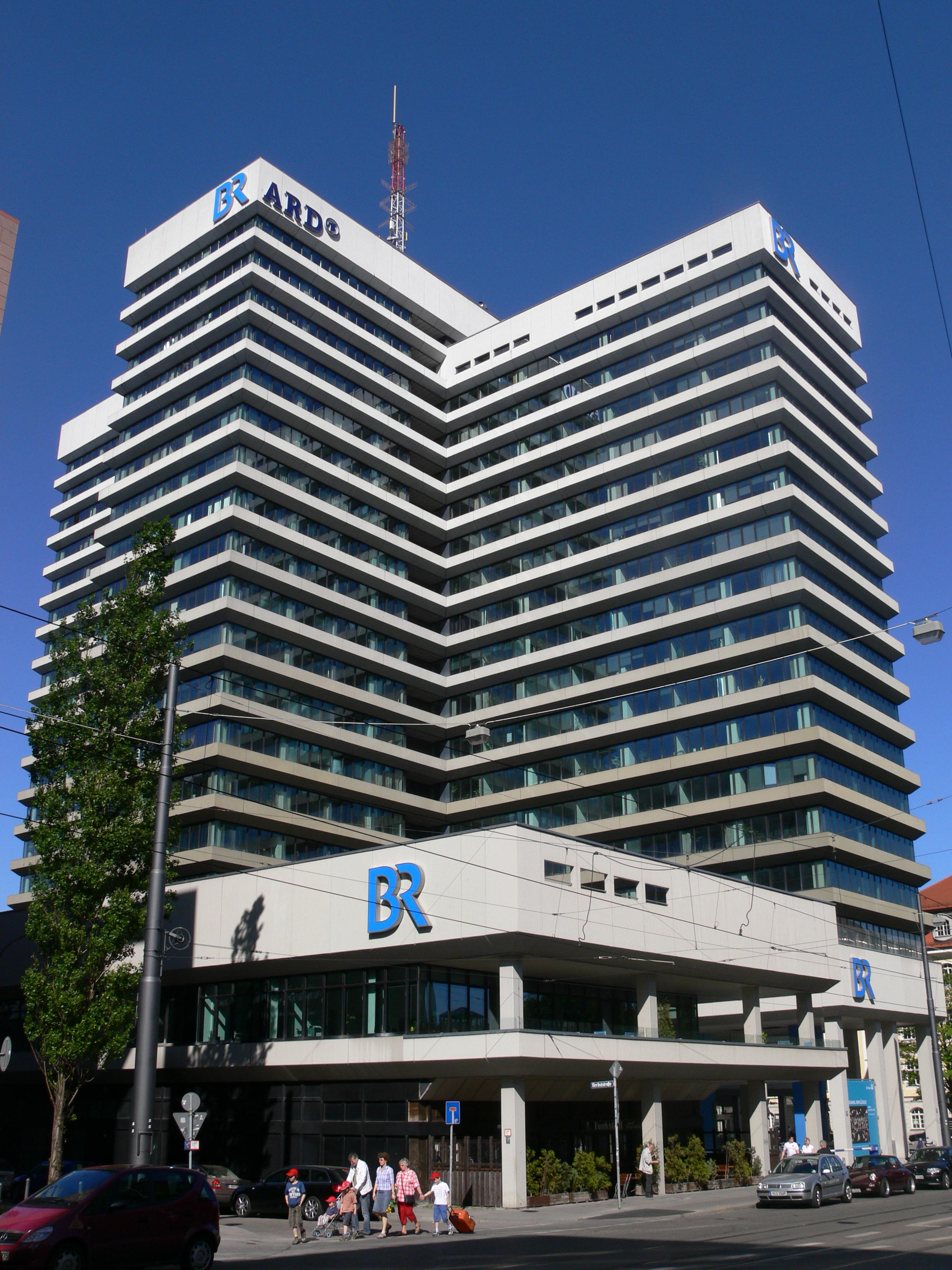 BR-Hauptfunkhaus, München