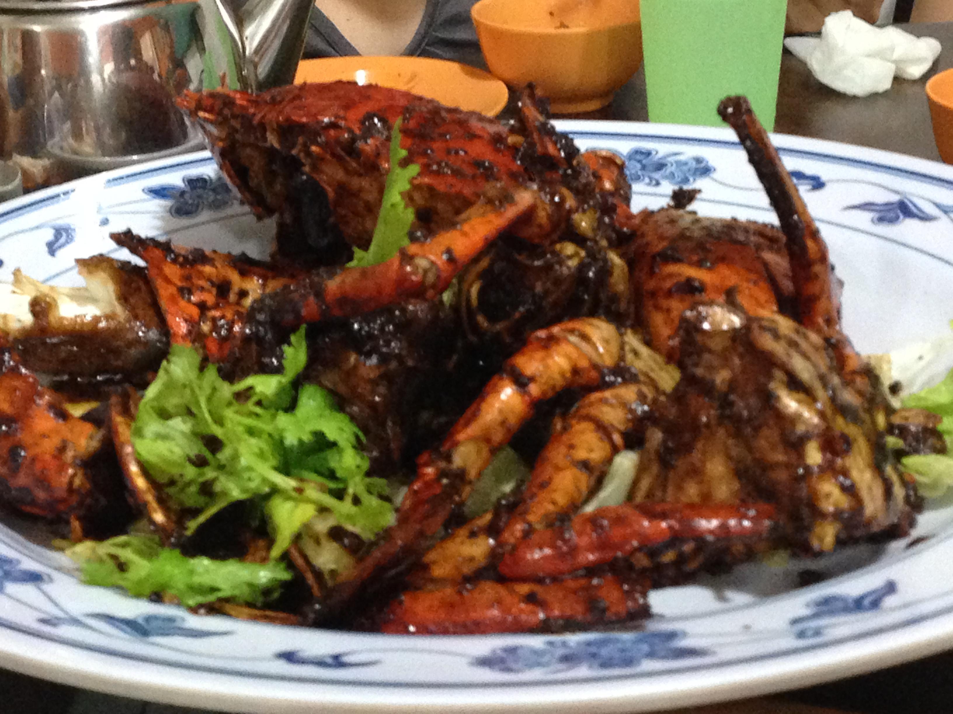 Image result for pepper crab