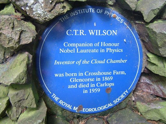 Blue plaque for a Nobel prize winner - geograph.org.uk - 903255