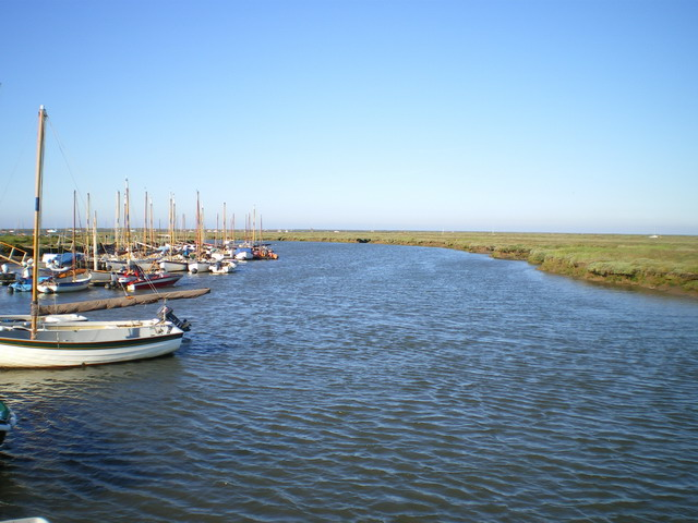 Boats at Morston Quay