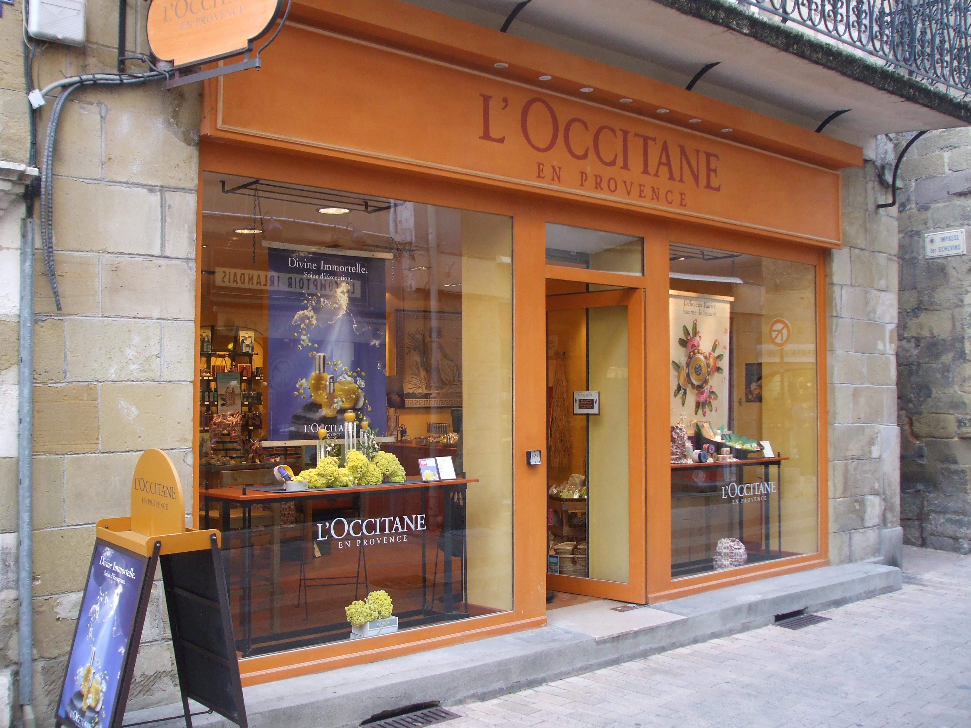 File boutique l 39 occitane en provence brive la gaillarde - Chambres d hotes brive la gaillarde ...