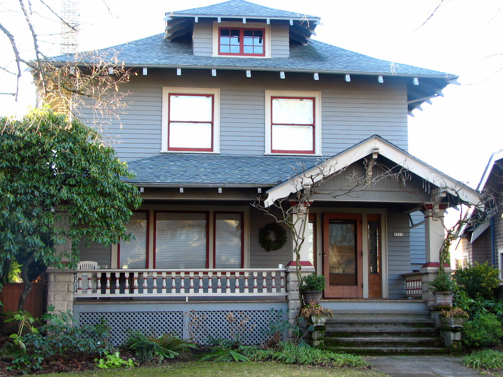 How many spots on the national register of historic places for Building a house in portland oregon