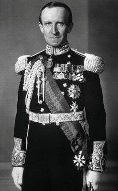 Baron Tweedsmuir in uniform, from National Arc...