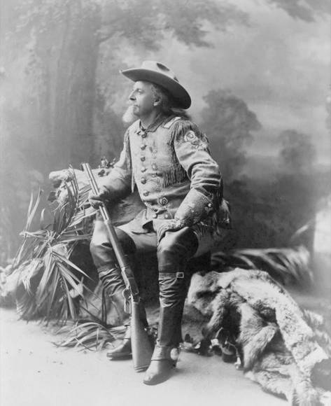 Buffalo Bill nel 1903