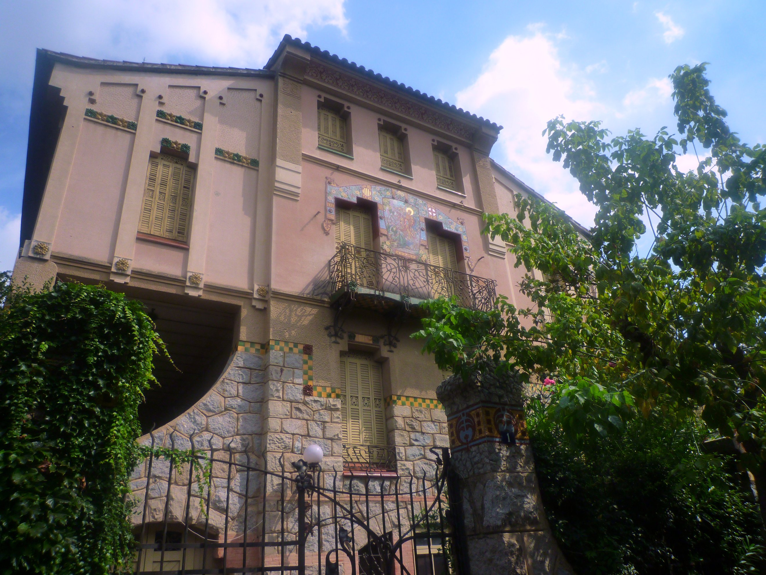 File casa barbey la garriga wikimedia commons - Casa la garriga ...