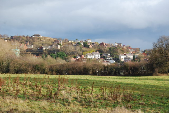 Houses at Cefn mawr