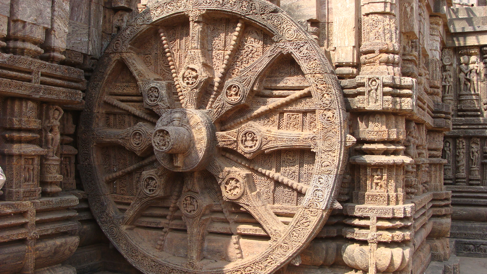 Image result for konark sun temple chariot