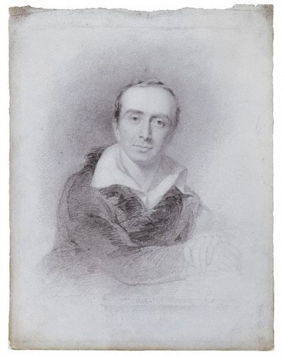 Charles Eastlake in a pencil sketch by John Partridge, 1825. Charles Lock Eastlake.jpg