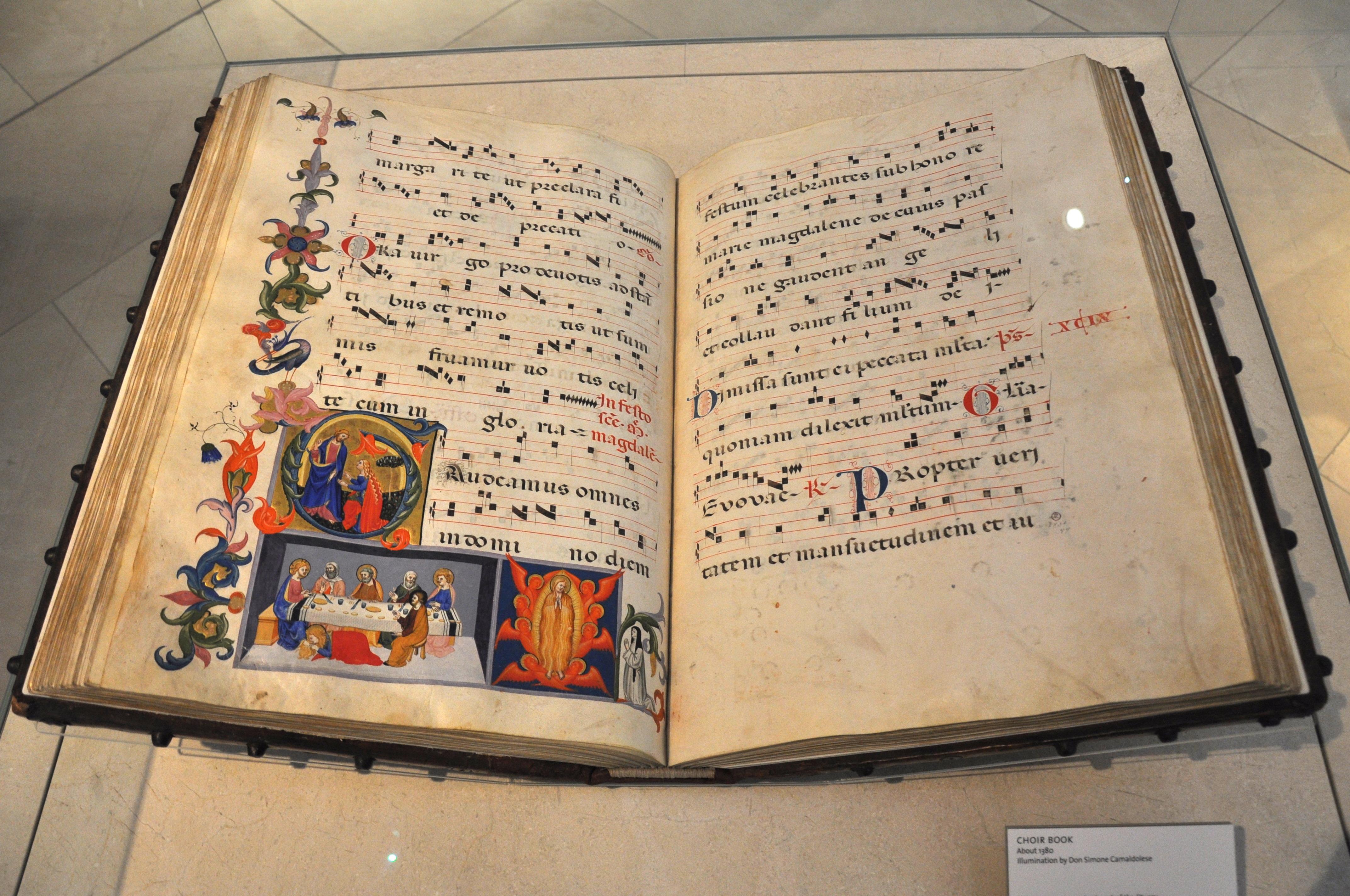 File:Chorbuch Florenz 1380 JPG - Wikimedia Commons