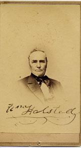 William Halstead American politician (1794-1878)