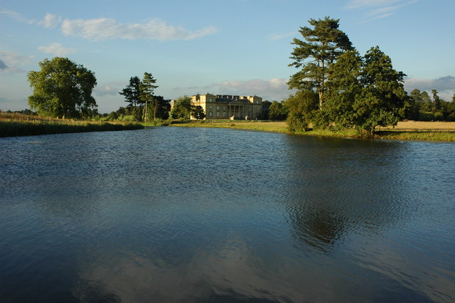 Croome River and Croome Court - geograph.org.uk - 1451976