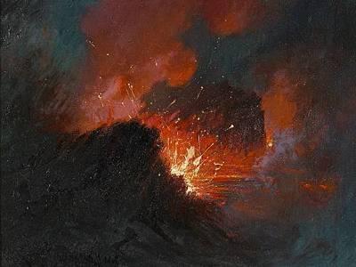 filedavid howard hitchcock eruption at kilauea 1919