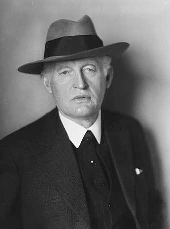 Norwegian painter Edvard Munch in 1933.