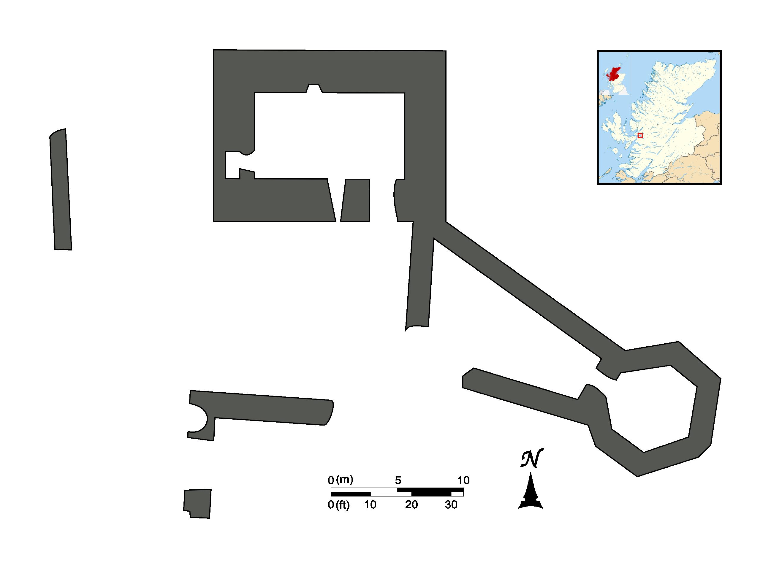 File Eilean Donan Castle Map 1887 Png Wikimedia Commons