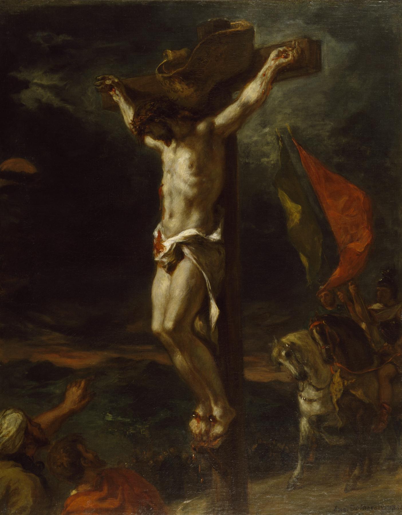 http://upload.wikimedia.org/wikipedia/commons/d/d2/Eug%C3%A8ne_Delacroix_-_Christ_on_the_Cross_-_Walters_3762_(2).jpg