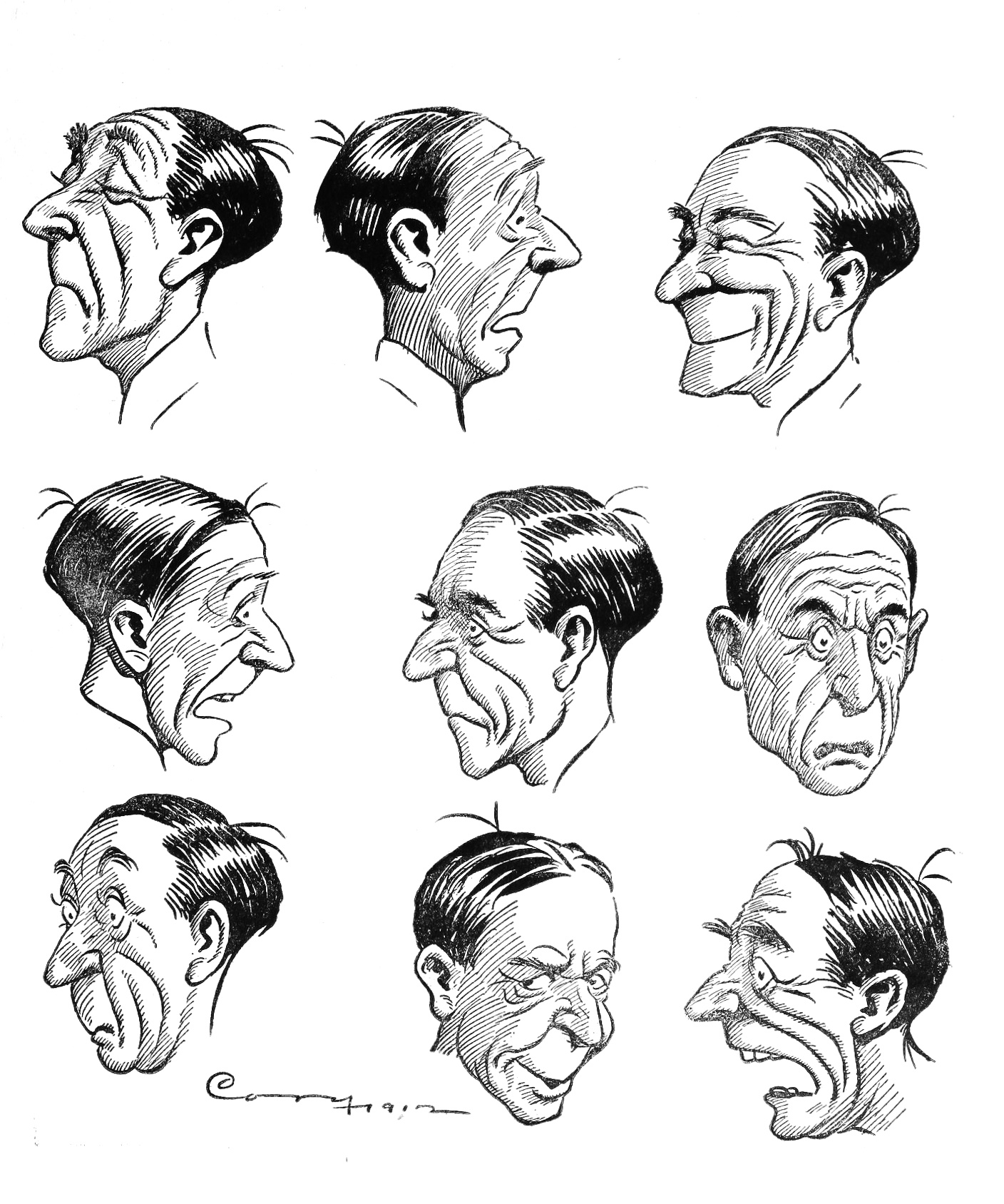 File:Facial expressions - The Cartoonist's Art.jpg - Wikimedia Commons