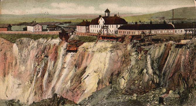 La mine de Falun