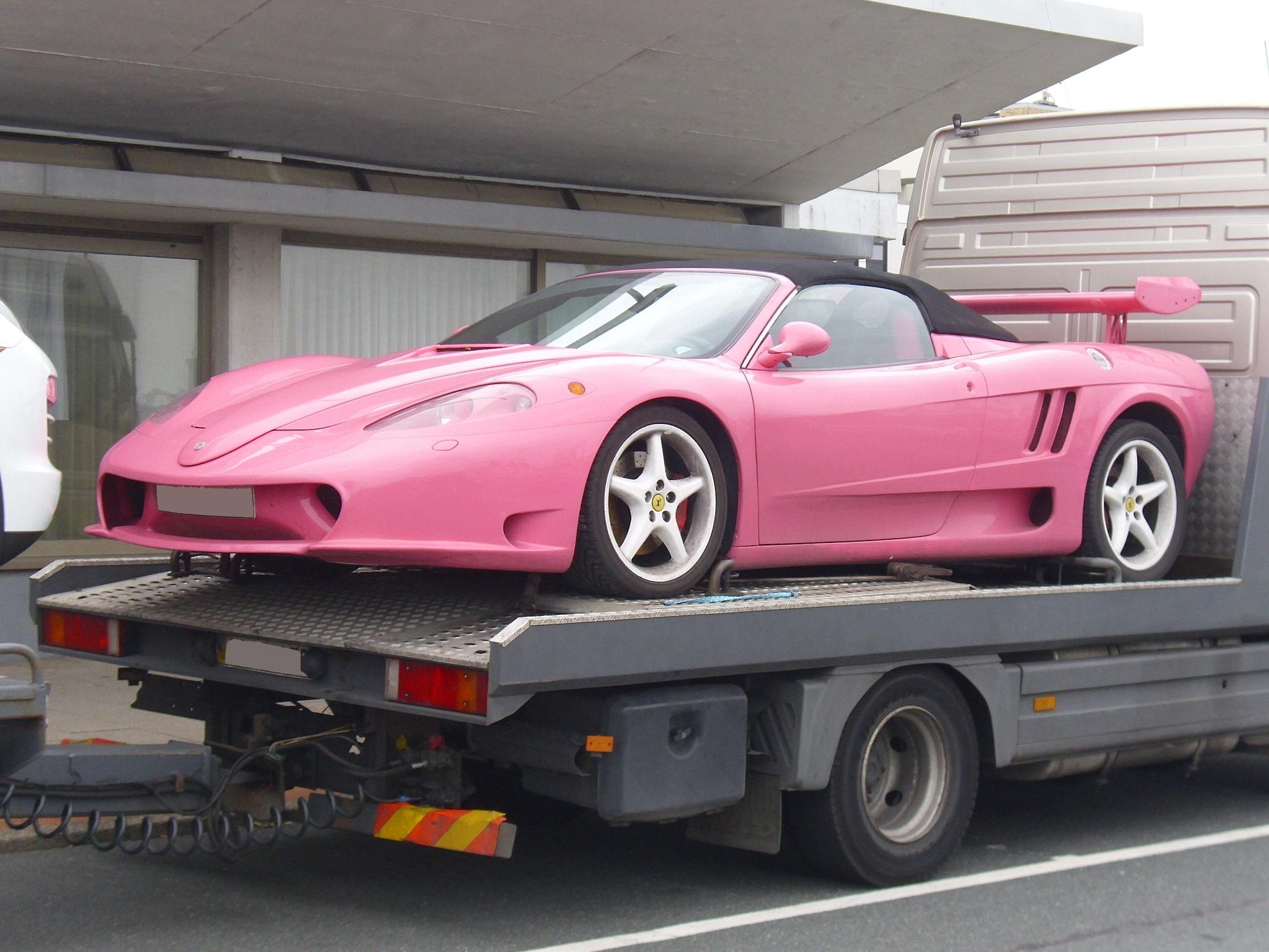 File Ferrari Pink Jpg Wikimedia Commons