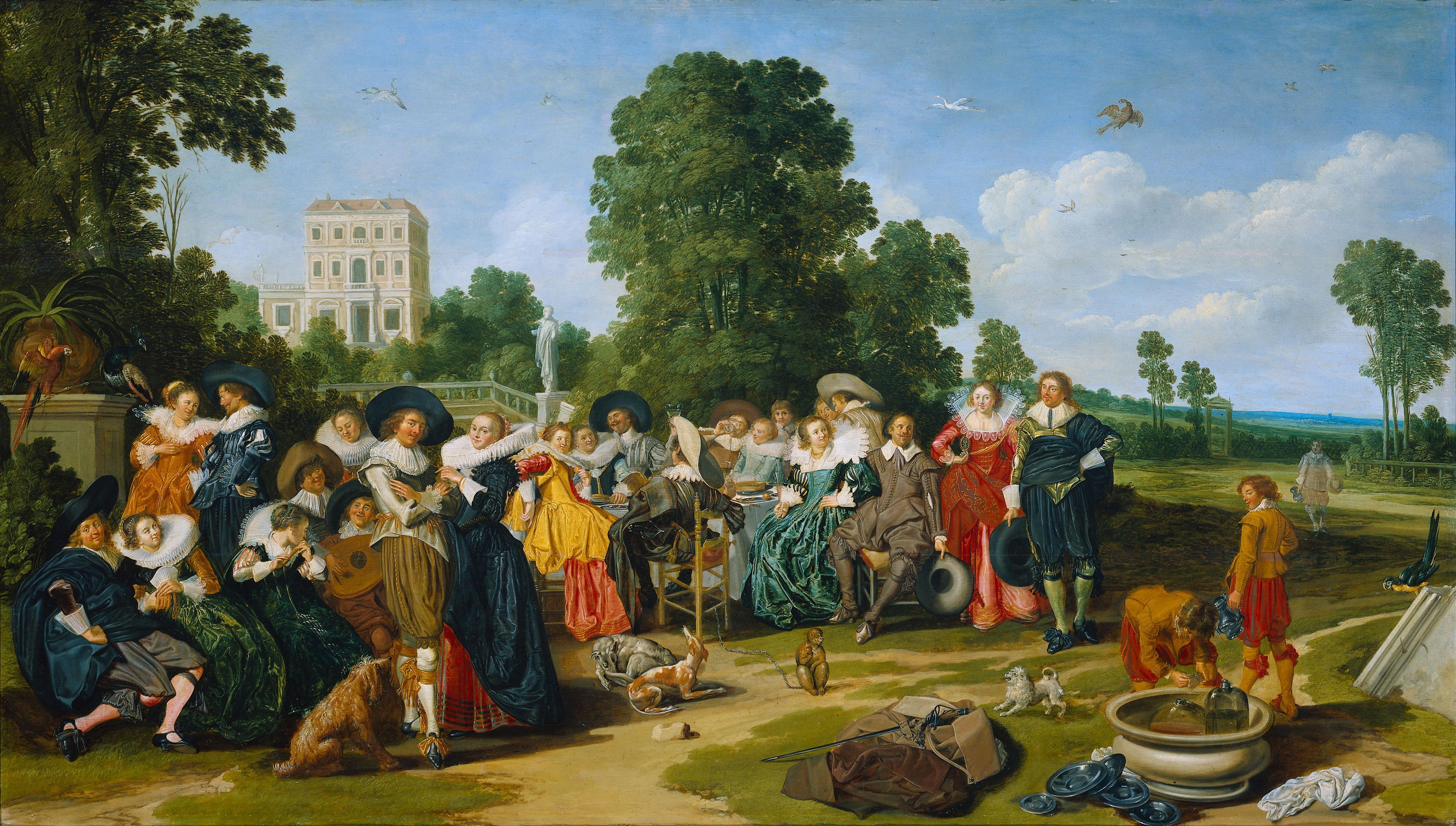 File:Fete Champetre (1627) Dirck Hals.jpg
