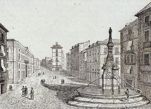 Fountain de la mariblanca wikipedia for Fuente de la puerta del sol