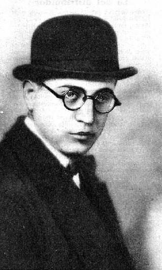 Paco Madrid hacia 1927