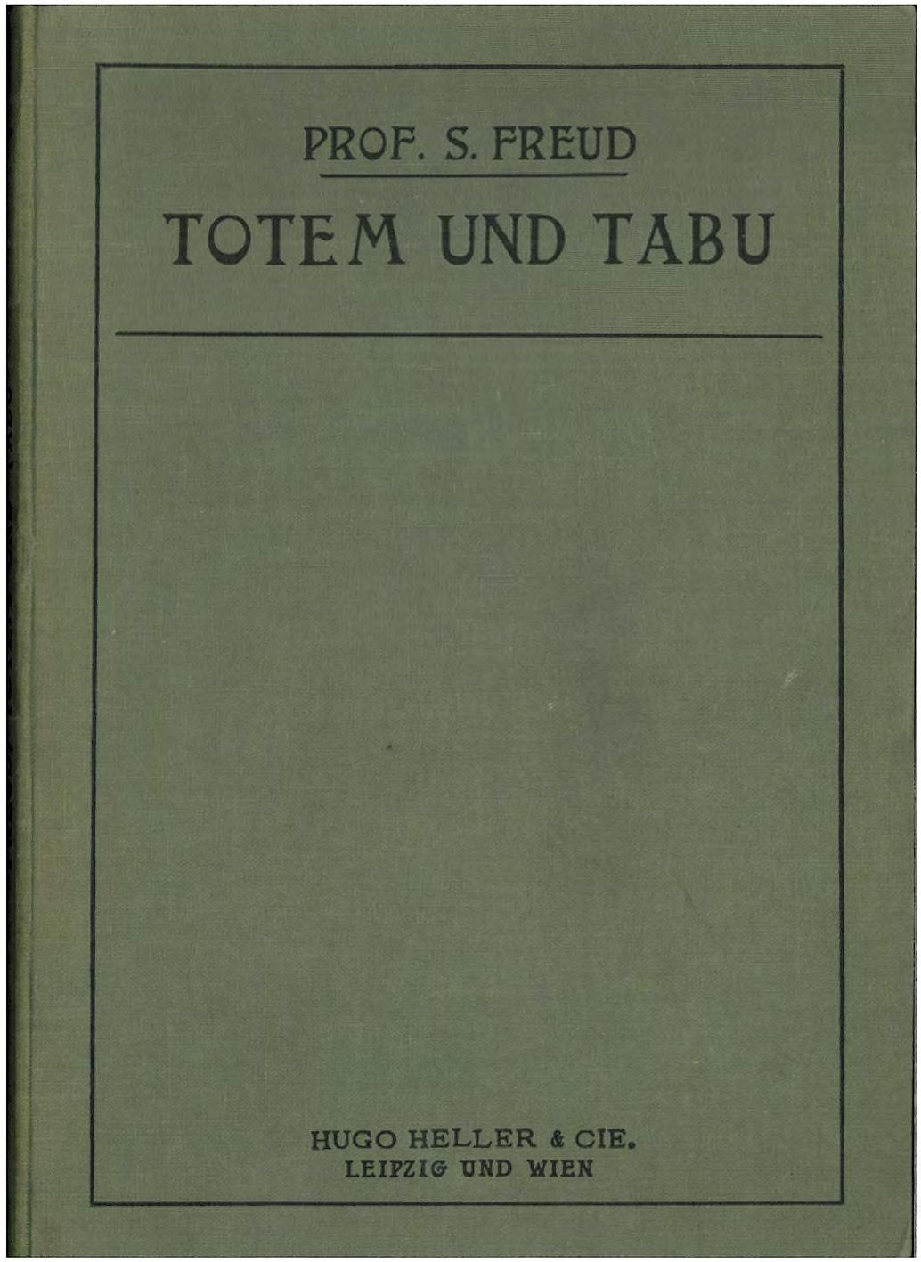 """an explanation of the origin of different religions in totem and taboo Totem and taboo /chapter iii from of the inanimate in his """"natural history of religions,"""" where are therefore of older origin than the."""