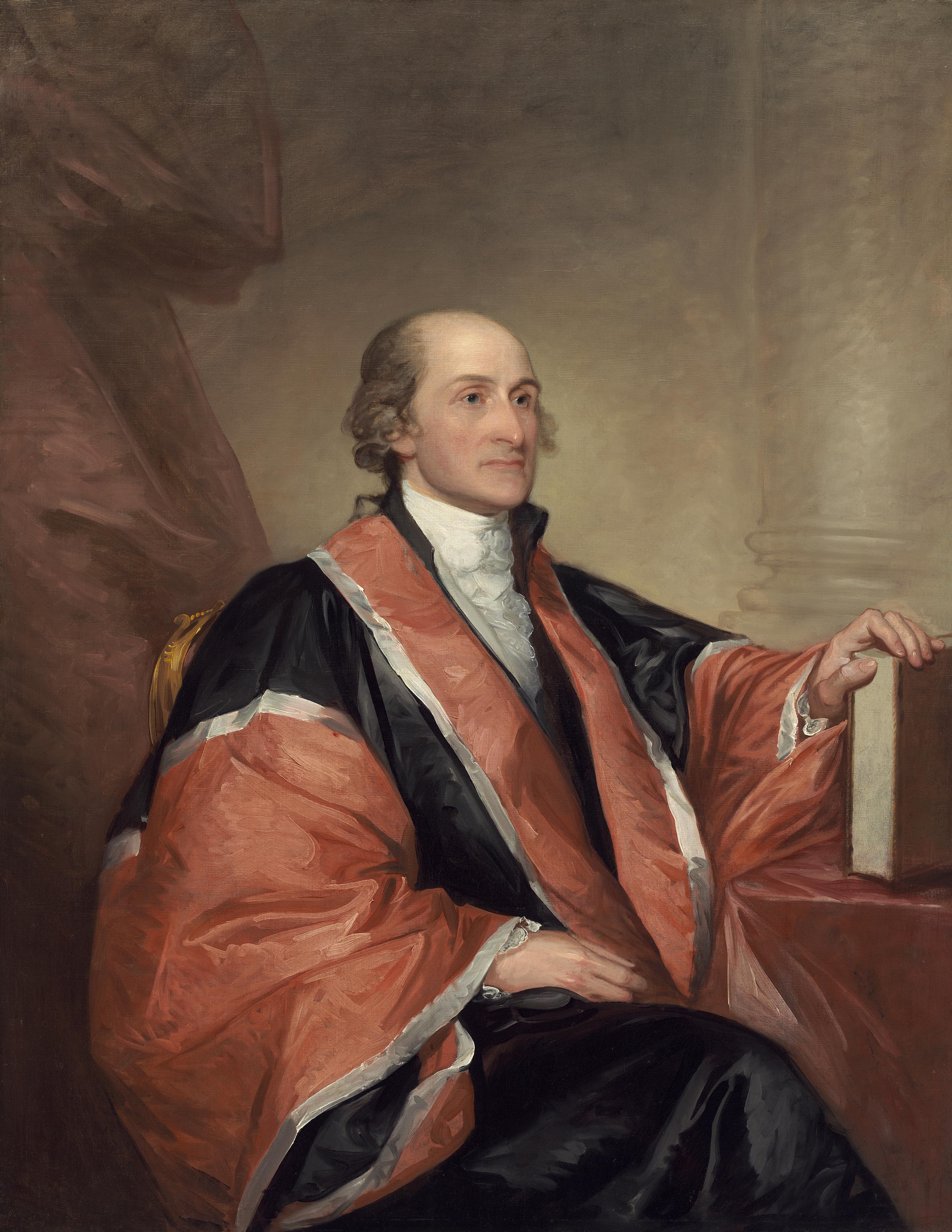 ''John Jay'', by [[Gilbert Stuart]], 1794