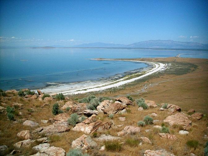 Great Salt Lake Beach