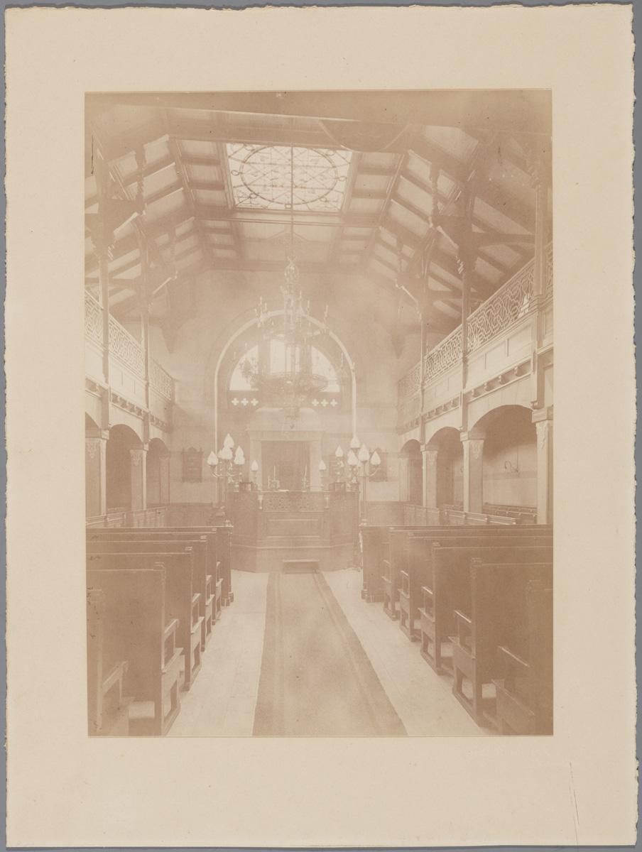 File grote synagoge van deventer origineel for Interieur wikipedia