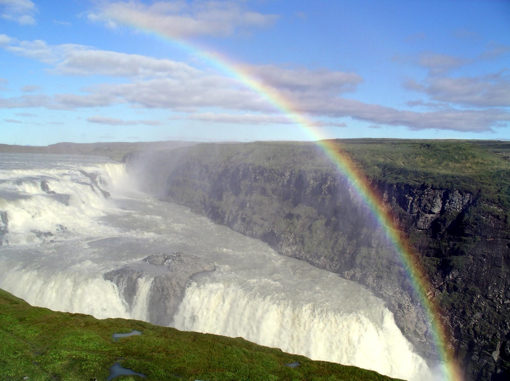 Download this File Gullfoss Rainbow picture