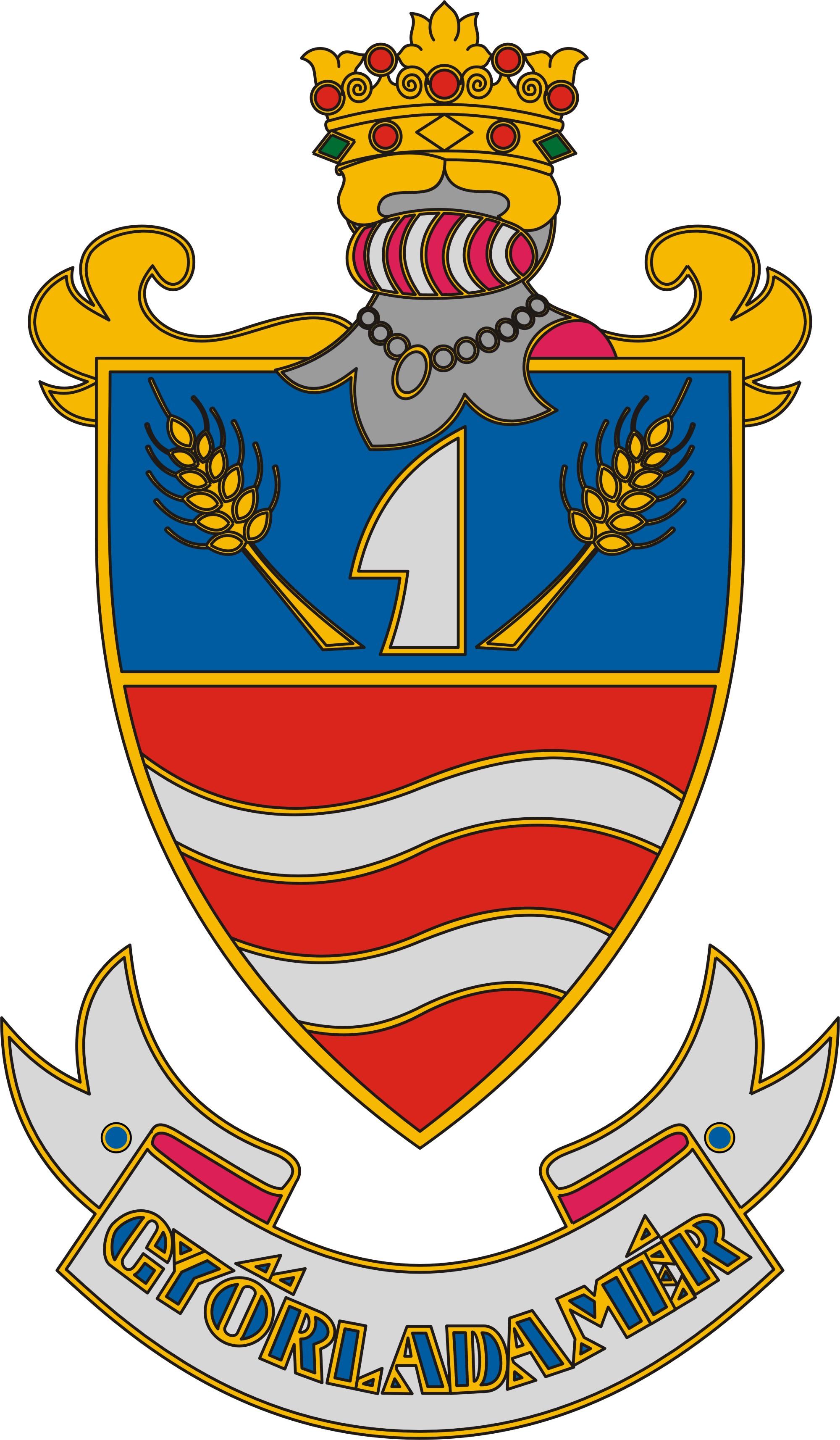 Győrladamér címere