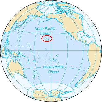 Hawaii wikipedia world map with hawaiian islands in the middle sciox Choice Image