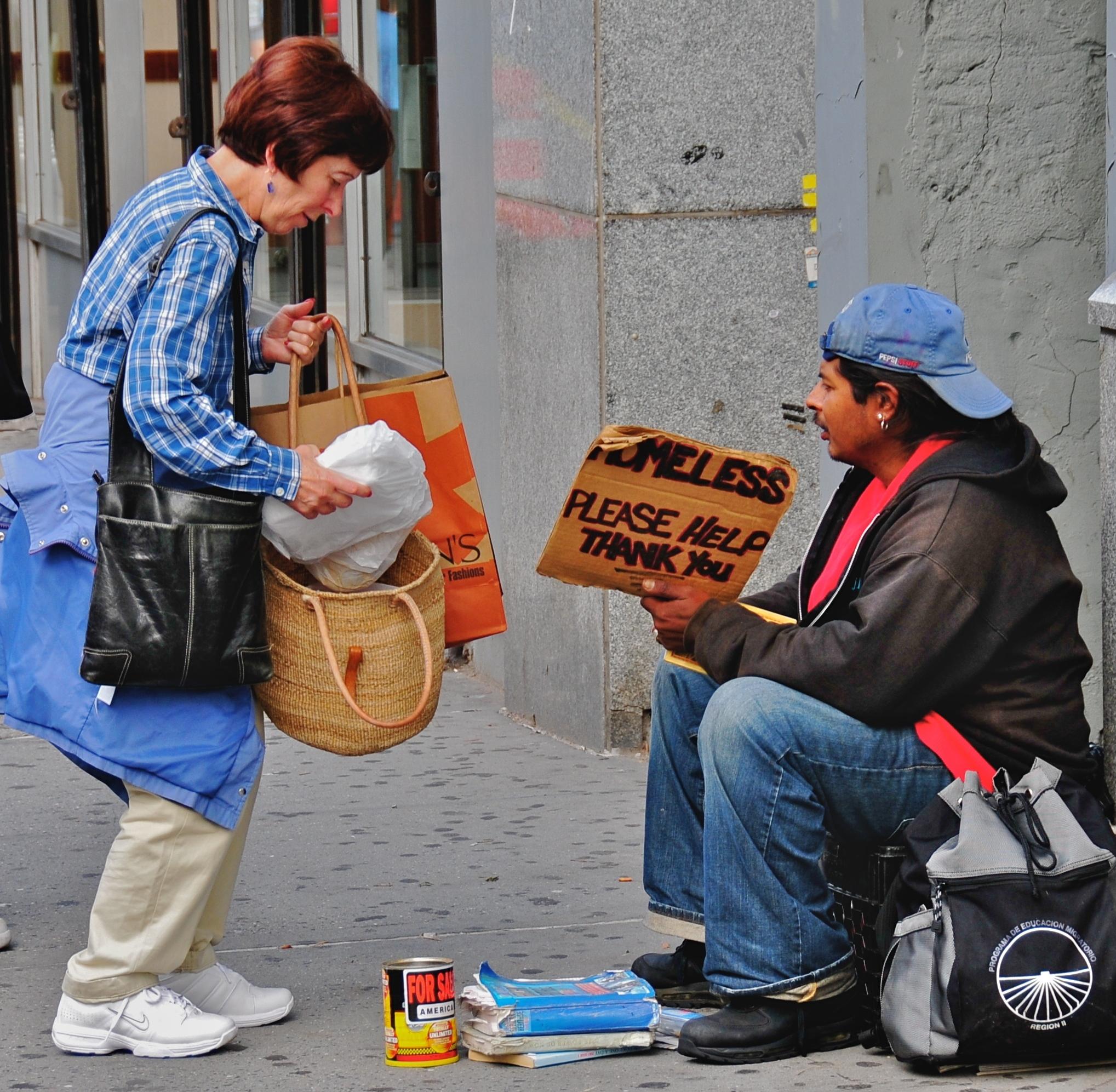 "Image result for homeless blessing bags"""