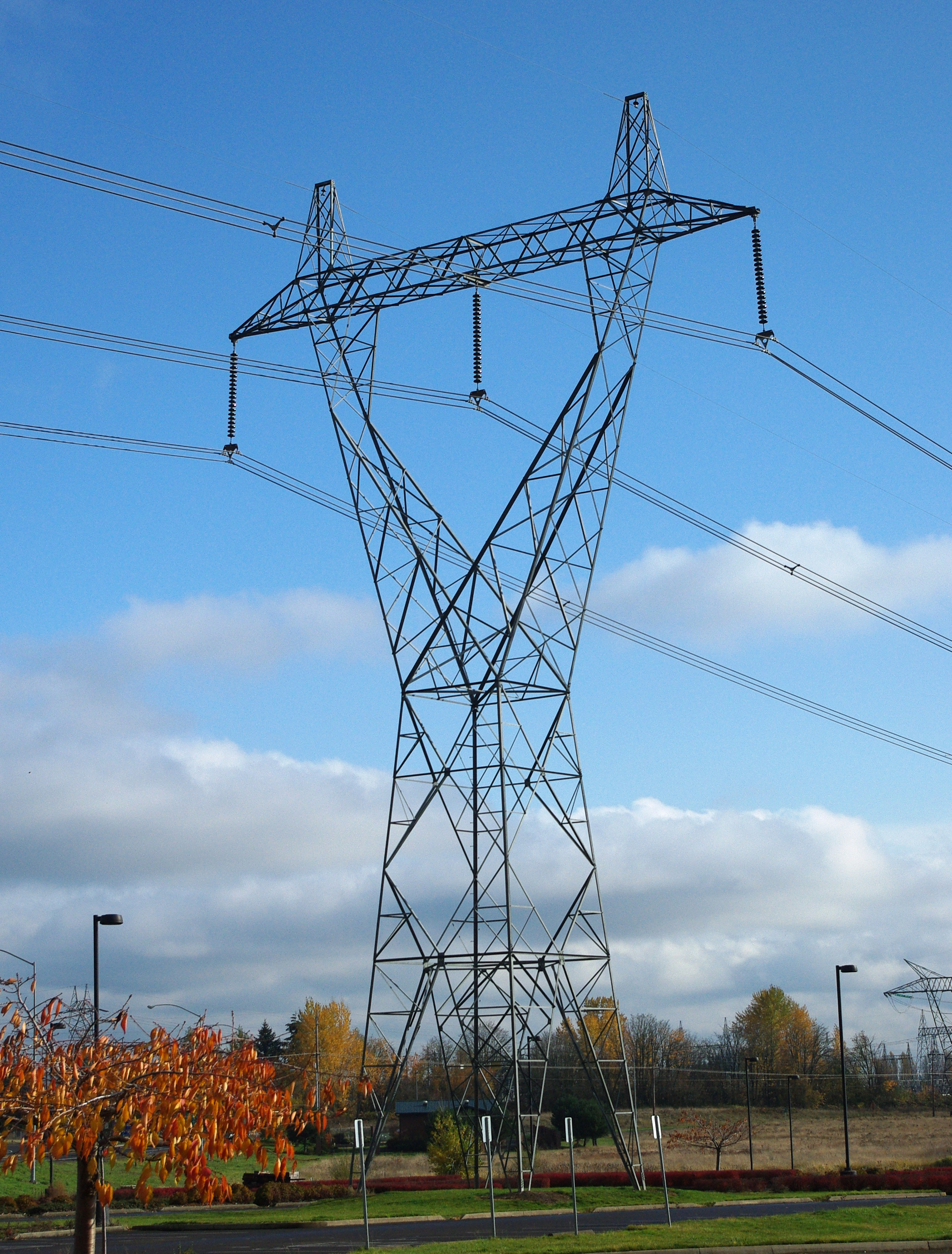 High Voltage Power Lines : Unincorporated communities in oregon