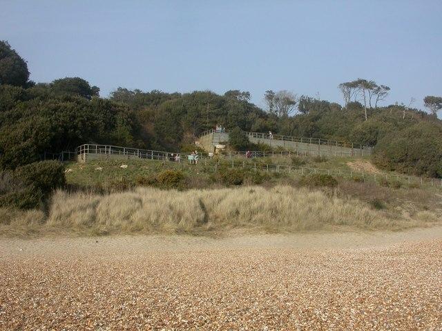 Highcliffe, Zig Zag Path - geograph.org.uk - 1210063
